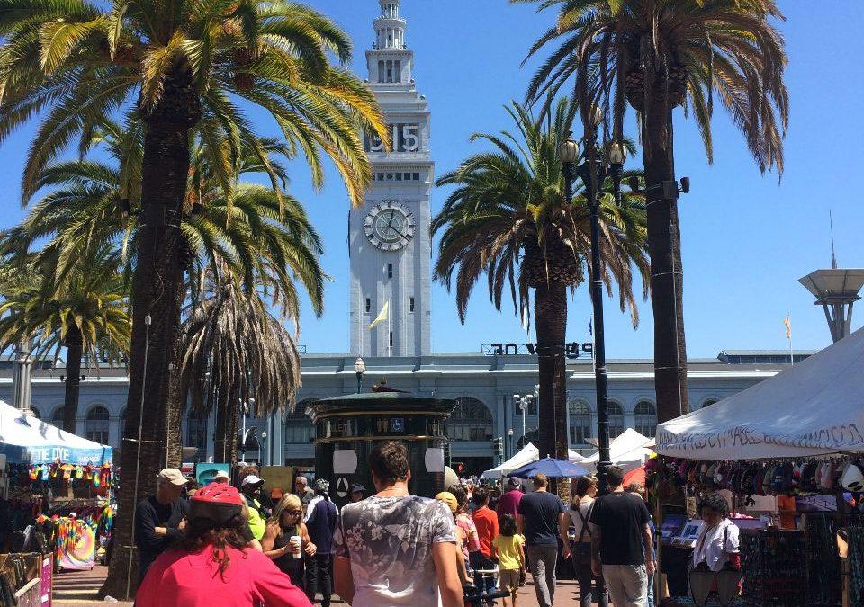 Dag 23 – Op de fiets in San Francisco