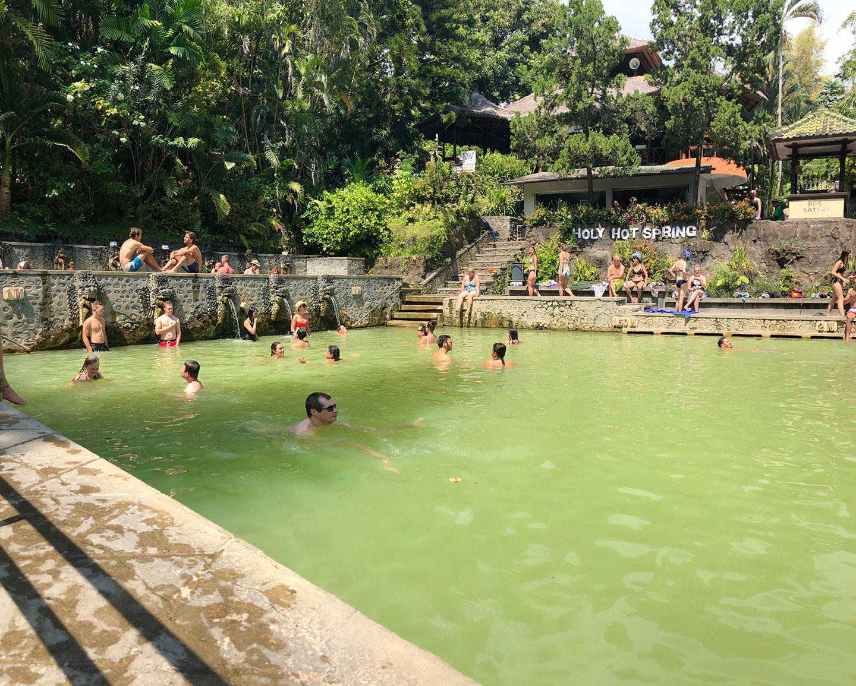 Warmwaterbronnen bij Banjar Hot Springs