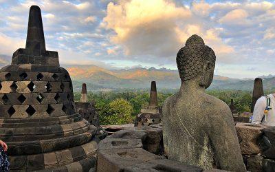 Dag 15 – 's Morgens héél vroeg naar de Borobudur