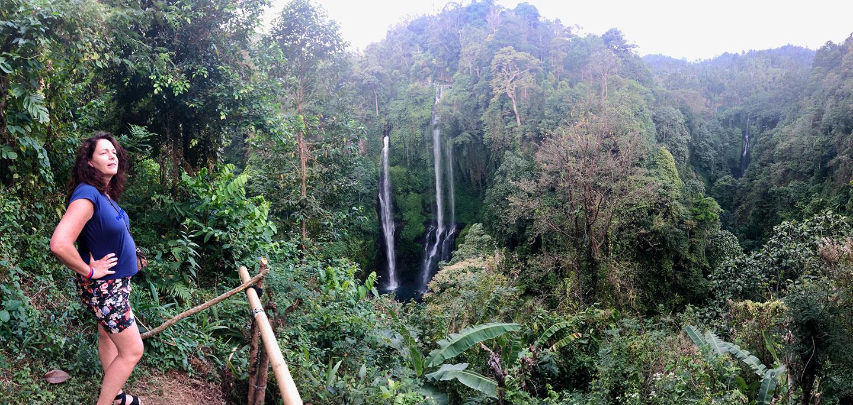 Fiji watervallen Bali