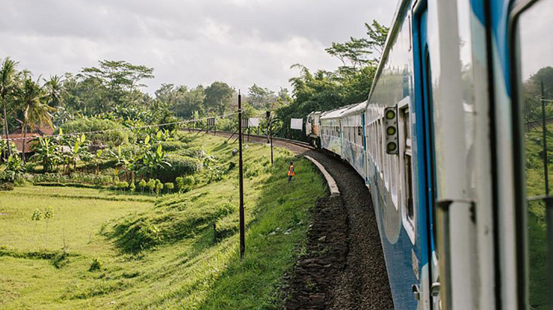 Trein naar Surabaya