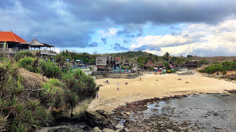 Dream Beach Huts op Nusa Lembongan