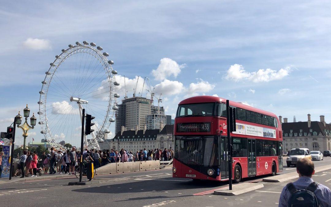 Dag 27 – Een dag in Londen en 's avonds met de trein naar huis