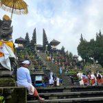 Pura Besakih, de grootste en heiligste tempel van Bali