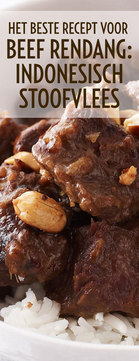 Beef Rendang, een kruidig stoofgerecht uit Indonesie