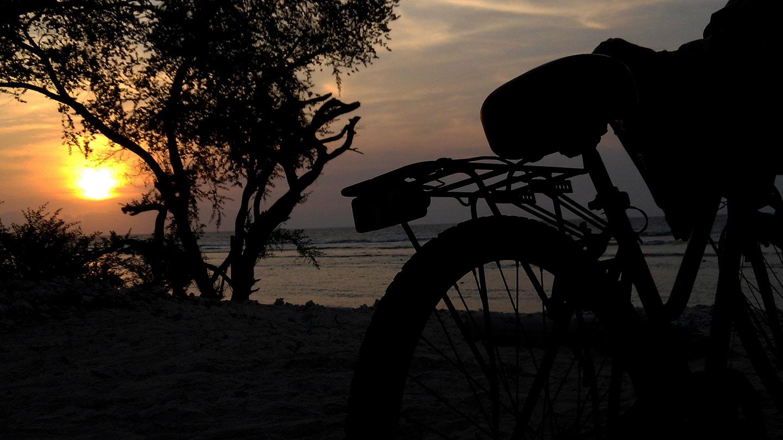 Gili Trawangan fietsen