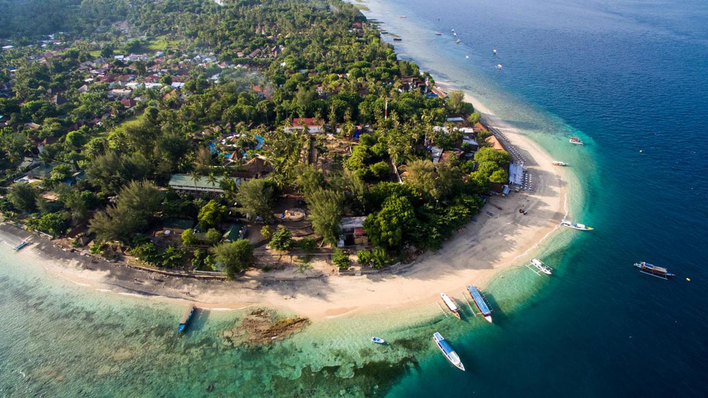 Resort op Gili AIr