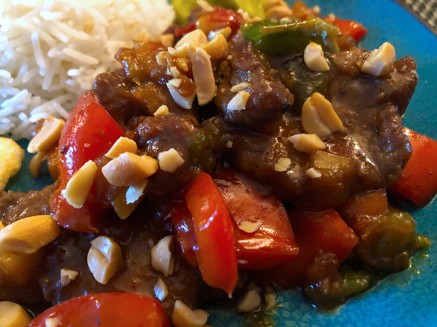 Chinees_indisch rundvlees en paprika