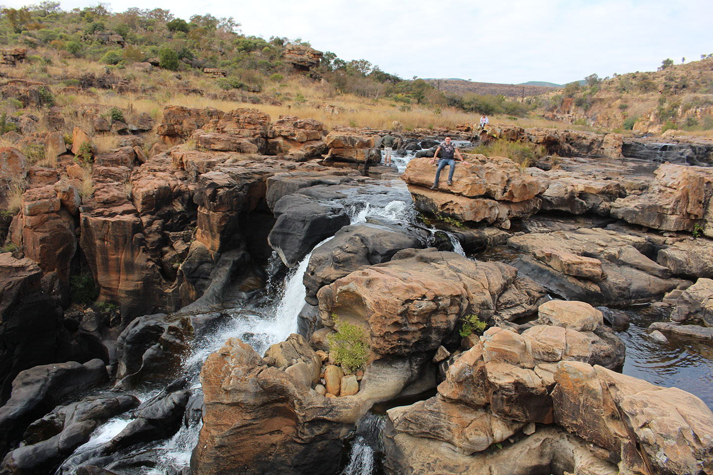 Bourkes Luck Potholes Panoramaroute ZUid Afrika