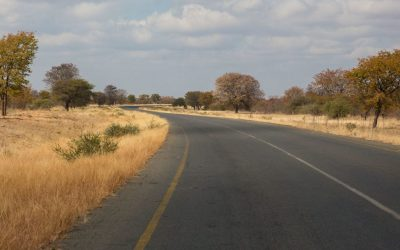 Dag 9 – Van Khama Rhino Sanctuary naar de Okavango delta