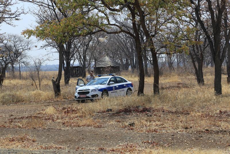 Politie controle in Botswana