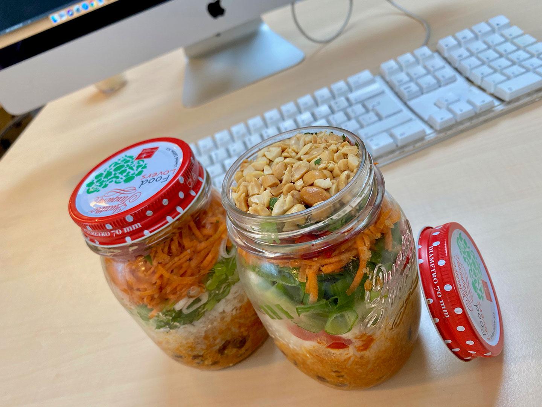 Thaise maaltijdpot om mee te nemen naar je werk