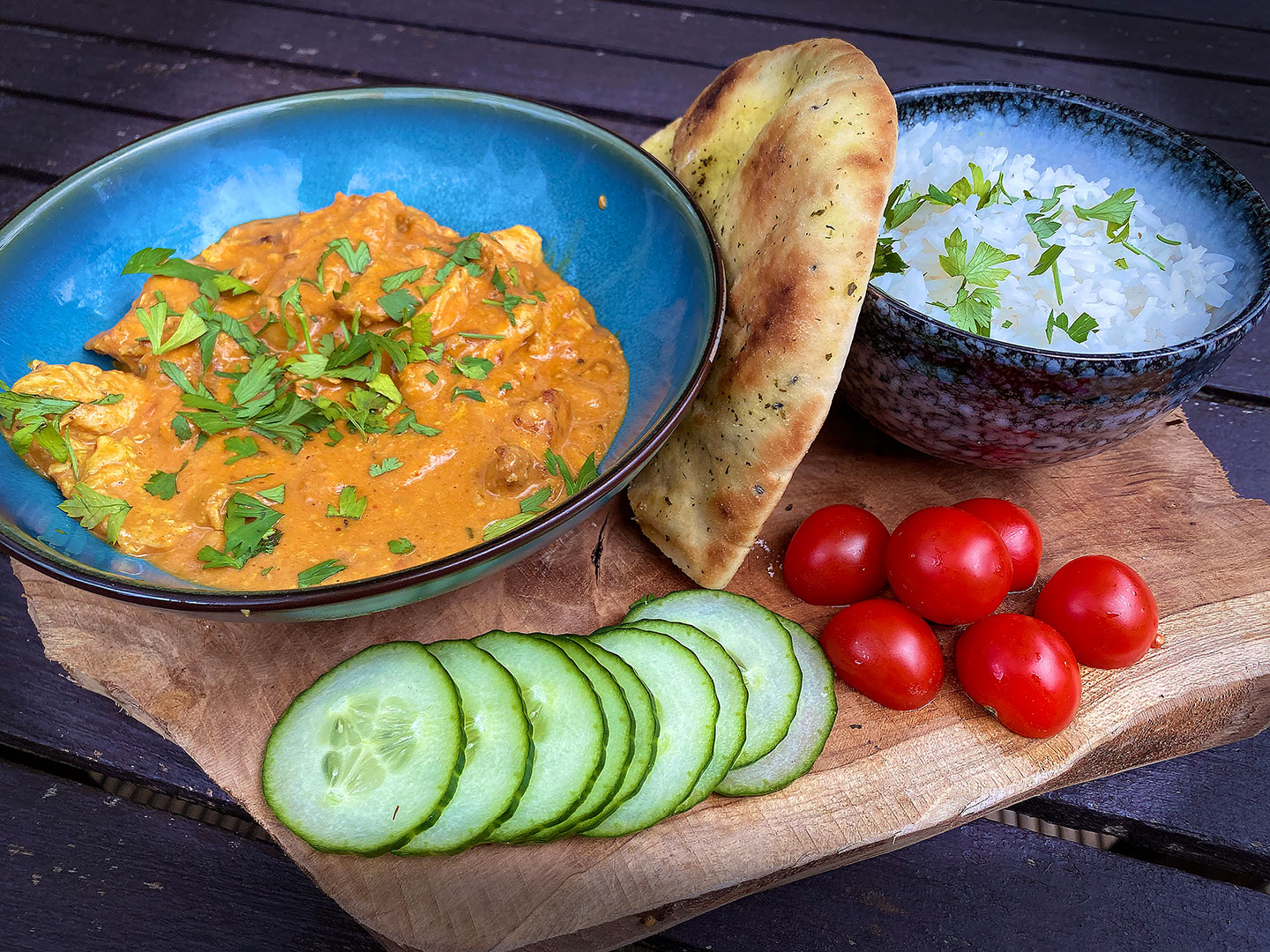 Indiase Butter Chicken Curry