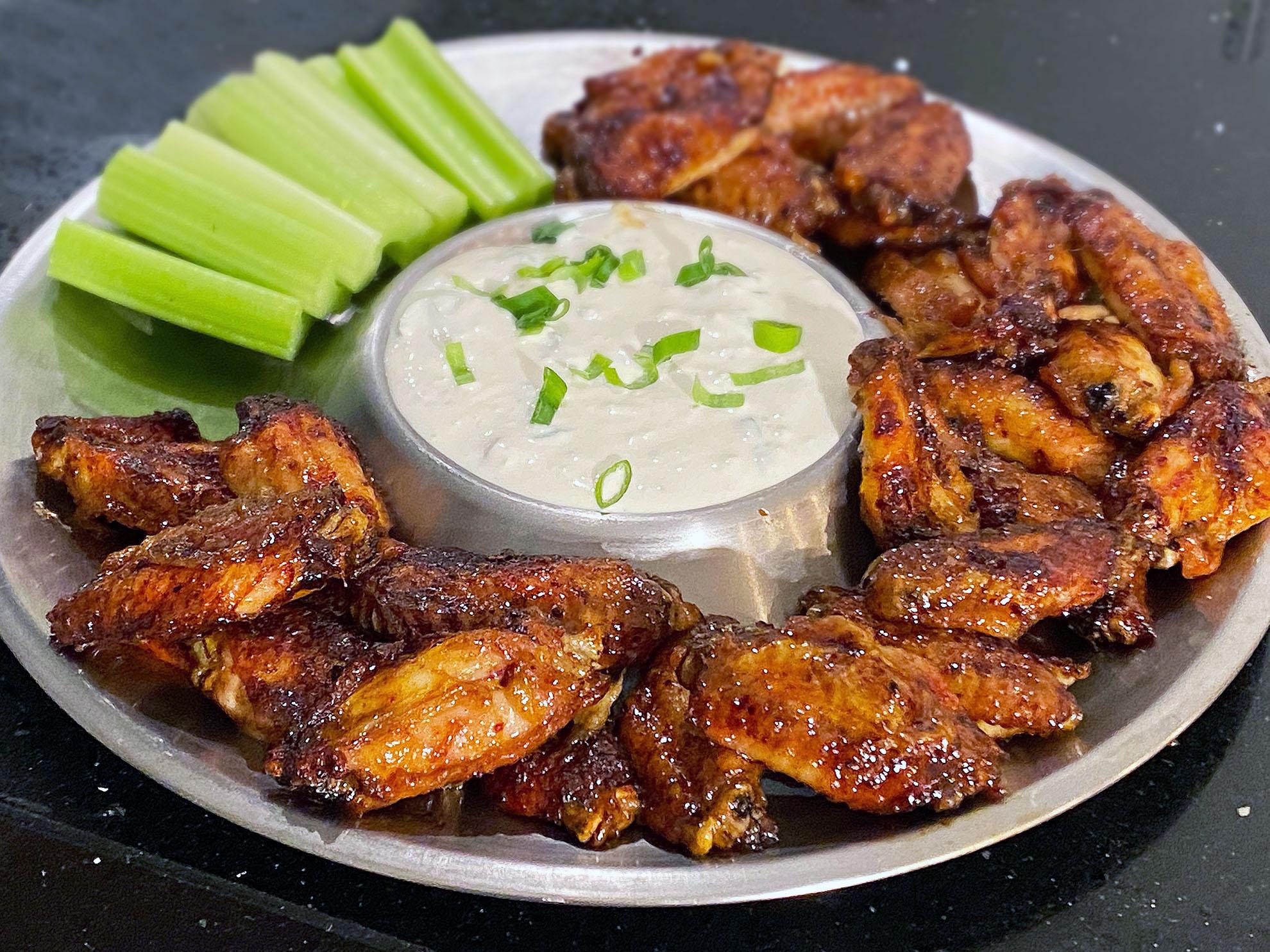Buffalo chicken wings, zoals in de Archor Bar USA
